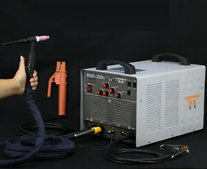 Eco Wse250a Inverter Ac dc Tig mma 3 In 1 Welding Machine Aluminum Welder 220v