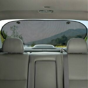 Car Rear Window Sun Shade Blind Suction Cup Fit Screen Dog Kids Baby Protection