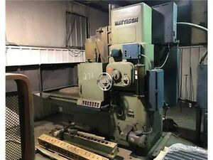 Mattison 24 Surface Rotary Grinder 100 Hp 24 Grinding Wheel 42 Diameter