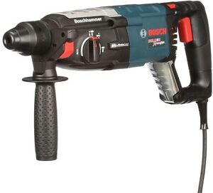 8 Amp Corded 1 1 8 In sds plus Variable Sp Rotary Hammer Drill Auxiliary Handle