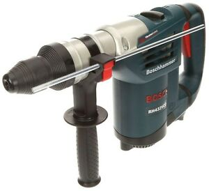 Bosch 8 5 Amp Corded 1 1 4 In sds plus Variable Sp Rotary Hammer Drill Auxiliary