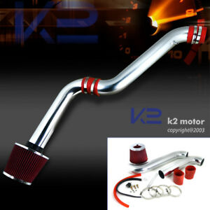 For 1994 2002 Honda Accord Dx Lx Ex Se L4 4cyl Cold Air Intake red Filter