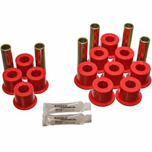 Energy Susp 2 Spring And Shackle Set Leaf Spring Bushings Rear New 5 2113r