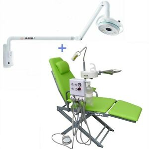 Wall Hanging Led Surgical Medical Exam Shadowless Cold Light Dental Chair 4h
