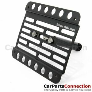 Multi Angle Tow Hook Mount License Plate Bracket Mb W219 Cls 05 10 Pdc