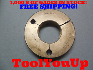2 087 16 Ns Thread Ring Gage Go Only P d 2 0464 Inspection Tooling Tool