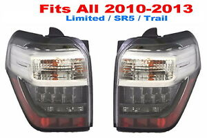 Toyota 4runner 2010 2013 Taillights Tail Lights Rear New Pair Fit 2010 2013