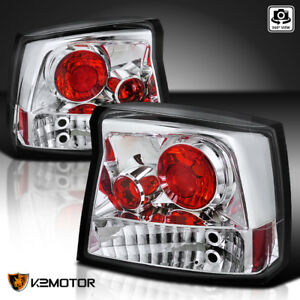 2006 2008 Dodge Charger Clear Rear Tail Lights Brake Signal Lamps Left Right