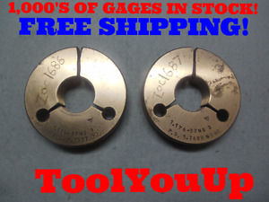 1 174 32 Ns 3 Thread Ring Gages Go No Go P d s 1 1537 1 1499 Tool Tooling