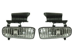 Depo 1999 2000 2001 2002 Chevy Silverado Replacement Fog Light Set Left Right