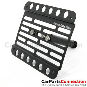 Multi Angle Tow Hook Mount License Plate Bracket Mini Cooper Clubman 11 16 R55
