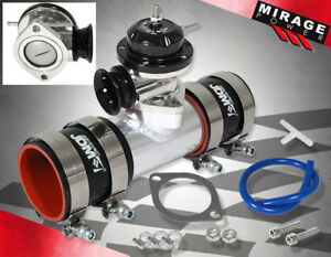 Turbo Boost Controller Blow Off Valve 2 5 Bov Adapter 38mm Ribbed Wastegate