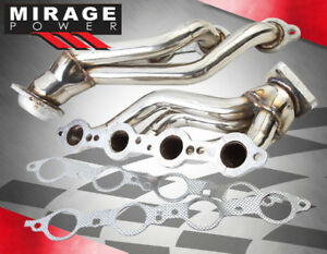 99 04 Avalanche silverado tahoe 1500 Stainless Steel Shorty Exhaust Header
