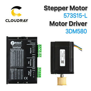 Stepper Motor 573s15 l Stepper Driver 3dm580 3 Phase For Laser Engraver Cutter