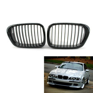 New Gloss Black Front Kidney Grille For Bmw E39 M5 99 03 5 Series 540i