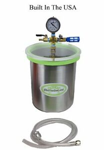 2 0 Gal Stainless Steel ss Vacuum Chamber W slickvacseal