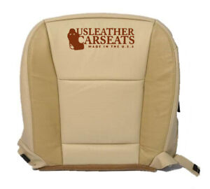 2006 2008 2007 06 Ford Explorer Driver Bottom Leather Seat Cover Two 2 Tone Tan