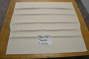 1966 66 1967 67 Chevelle Ss 2 Door Hardtop Snow Bright White Tier Headliner Us