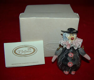Capodimonte Clown Sorriso Made In Italy Cute Porcelain Figurine