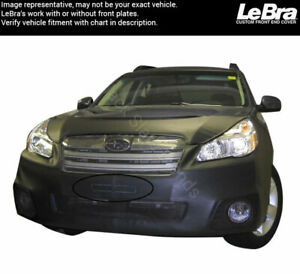 Lebra Front End Mask 551356 01 Fits Subaru Outback 2013 2014