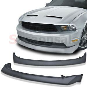 Made For 2010 2012 Ford Mustang V8 Only B2 Style Front Pu Bumper Add On Lip