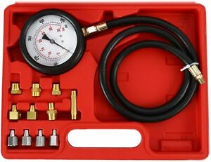 Engine Oil Pressure Tester Gauge Diagnostic Test Transmission Kit 500psi