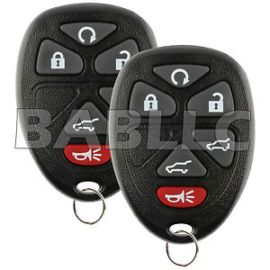 For 2007 2014 Tahoe Keyless Entry Remote Control Car Key Fob Chevrolet Ouc60270