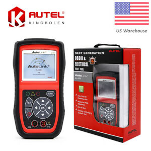 Autel Autolink Al439 Obd2 Eobd Can Scanner Diagnostic Engine Pcm Code Reader