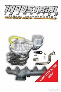 Industrial Injection Silver Bullet 66 80 Turbo Kit Fits 2010 2015 6 7 Cummins