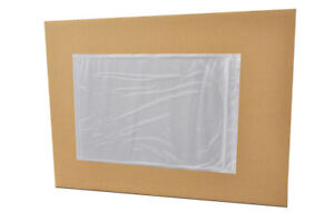 Clear Packing List Envelopes Plain Face 10 X 12 Self Seal Pouch 50000