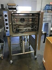 Baker s Pride Ccoe 52 Electric Combi Oven With Stand new