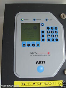 Art Online Particle Counter Oil opco Arti Online Particle Counter Oil