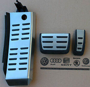 Audi Rs6 Footrest Pedal Set Brake Accelerator 4f C6 A6 S6 Automatic Cars