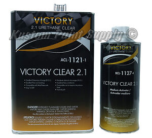 Victory Clear Coat Gallon Kit For Motorcycles Fenders Spot Repair