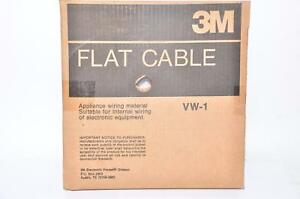New 3m Flat Cable 1700 16sf 80 6107 9068 7 28awg Str 100ft