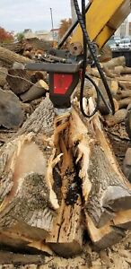 Black Splitter Hydraulic Log Splitter Excavator Cone Splitter Model S2 800