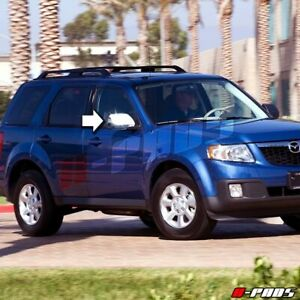 For Mazda Tribute 2008 2009 2010 Chrome Full Mirror Covers 08 09 10 Cover 2 Pair