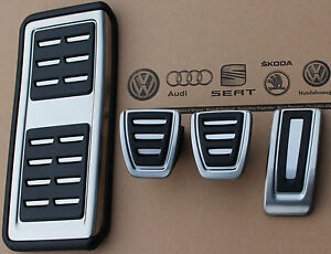 Audi A1 S1 Original Pedalset Pedals Pedal Cover Pads Caps Footrest Manual Cars