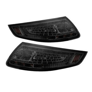 Porsche 05 08 997 911 Carrera Gt2 Gt3 Smoked Led Tail Brake Lights Pair Set