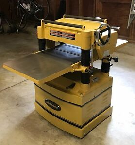 Powermatic 209hh Thickness Planer 20 Width 5 Hp 230v 3 phase
