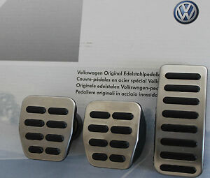 Vw Lupo Fox Original Pedal Set Pedals Caps Covers Manual Cars