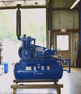 Quincy Model 390 20 Air Compressor