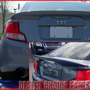 2011 2017 Scion Tc Factory Style Rear Trunk Spoiler Wing Unpainted