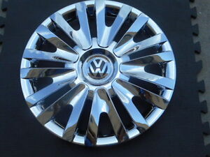 15 Chrome Hubcaps Wheelcovers Vw Golf Jetta Passat 4 New Better Than Oem