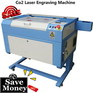 New 60w Co2 Laser Engraving Cutting Machine 500 300mm With Red Dot Positioning