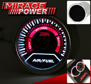 52mm Air Fuel Ratio 2 Gauge Engine Monitor Universal Fitment Jdm Sport Ga 021