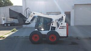 2015 Tier 4 Bobcat S530 Fresh Paint And Decals Low Hours