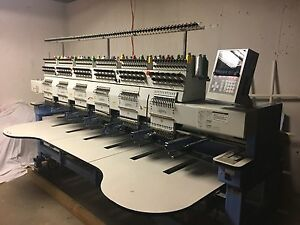 Happy Brand Embroidery Machine 6 head Excellent Condition