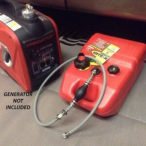 Predator Ii 2000 Watt Inverter Generator 6 Gallon Extended Run Fuel System Read