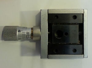 Micro controle Klinger Miniature Linear Translation Stage With Micrometer